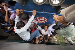 People travel for Celebrate Eid ul-Fitr in Bangladesh