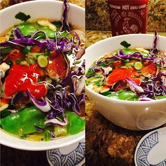 Pho with Korean Short Rib (Vegan Feast Catering) Tags: soup vegan spicy pho herrbivorousbutcher