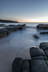 Norah Head Sunrise 2 (dave.gti) Tags: ocean lighthouse seascape nature sunrise rocks select norahhead