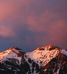 Mount Timpanogos 4 17 2016 sunset-3341 (houstonryan) Tags: county pink sunset snow mountains clouds lens photography utah nikon wasatch pretty mt ryan houston sigma snowcapped mount photograph timpanogos april 17 capped timp snowcap 2016 d300s houstonryan