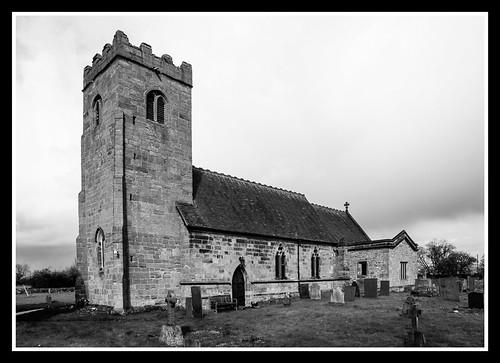 St James Church Swarkestone Agfa APX25
