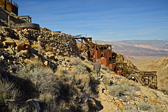Skidoo Stamp Mill (nebulous 1) Tags: history abandoned buildings landscape gold nikon view desert historic mining machinery mines processing historical deathvalley ore miners bullion stampmill deathvalleynationalpark dvnp goldbullion nebulous1 skidoostampmill