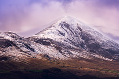 Croagh Patrick (mickreynolds) Tags: snow clareisland croaghpatrick pentax80200 maneen sheroe nx500 april2016 derrygorman