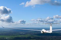 LS-4 on cross country flight (Tobiasstift) Tags: flying flight soaring gliding glider flugzeug stade fliegen flug segelfliegen segelflugzeug fliegerei segelflug ls4 segellfiegen lsvstade