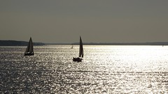 October light (JoannaRB2009) Tags: autumn light summer lake fall nature water weather silver landscape boats sailing view space air sails poland polska yachts lodzkie dzkie zalewsulejowski