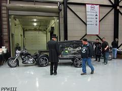 Last Ride (PPWIII) Tags: leather ride funeral walker swap motorcycle grandrapids meet hearse paragon deltaplex