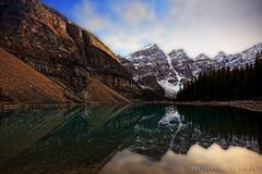 Moraine Lake Lake in Alberta, Canada (Photography by Ramin) Tags: lake canada moraine