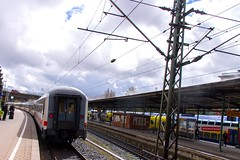A little Rain (Linus Follert) Tags: city train ic br hamburg eisenbahn zug bahnhof 101 inter harburg bimz