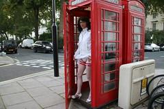 LONDON_011256 (Kira Dede, please comment my photos.) Tags: london stockings lingerie upskirt crossdresser 2015 kirad kiradede
