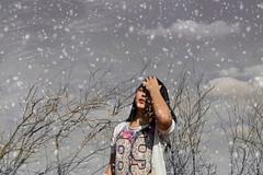 Ingrid Maiara (EvelinCristina) Tags: test woman snow cold love girl beautiful weather hair ensaio 50mm nikon loneliness cloudy mulher manipulation linda neve nublado feeling outer 18 menina tempo frio cabelo amar solido manipulao externo sentimento d3100