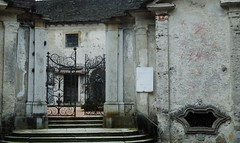 would you enter? (SM Tham) Tags: italy building church cemetery statue gates steps walls lakeorta italianlakes ortasangiulio sacromontediorta chiesadisanquirico viagemelli