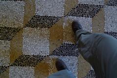 Steps? - Ducal Palace - Mantova (Mantua), Lombardy, Italy (John Meckley) Tags: mantova mantua lombardy italy italia floortile