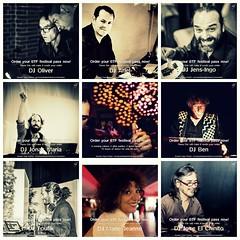 Brussels Tango Festival DJs