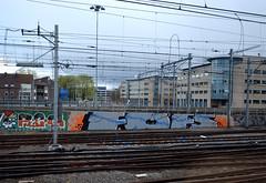 trackside graffiti (wojofoto) Tags: holland graffiti nederland railway netherland reg spoor trackside fofs wolfgangjosten kbtr wojofoto