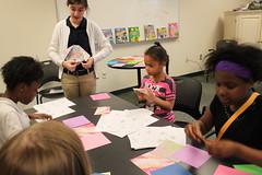 Origami at the Pontiac branch during National Library Week 2016 (ACPL) Tags: origami pontiac pon 2016 fortwaynein acpl nationallibraryweek nlw allencountypubliclibrary