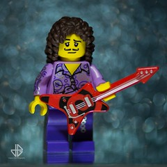 R.I.P. Prince (Greg 50) Tags: purple lego guitar rip prince singer tribute