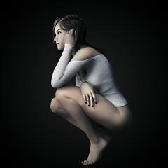 Figure Study (Bel's World) Tags: sexy soft study figure seminude 3dmodeling daz tenshe