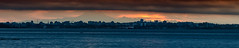 Skyline of Victoria, BC (C McCann) Tags: ocean city sea panorama mountain seascape canada water skyline sunrise volcano mt baker bc pacific britishcolumbia victoria vancouverisland juandefuca strait metchosin colwood alberthead