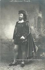 MERINA, (-), Faust, Thtre Royal Franais, Antwerp (Operabilia) Tags: claudepascalperna goldenage opera tenor merina faust gounod thtreroyal antwerp autographe autograph