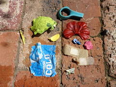 Rubbish haul from FSC seawall snorkel at south beach (Figgles1) Tags: beach trash garbage snorkel south snorkeling rubbish fremantle groyne southbeach fsc southfremantle fremantlesailingclub p1020092