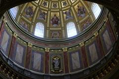 Basilica Dome (Crisp-13) Tags: roof saint hungary basilica budapest ceiling cupola dome stephens bazilika istvn szent