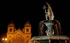 Pachacuti & Cusco (oeyvind) Tags: peru church cuzco cusco perú per iglesiadelacompañíadejesús plazadearmasdelcusco xf1855mm