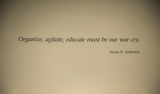 Organize, Agitate, Educate