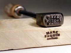 sello para luthier