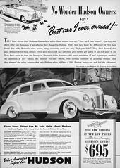 1939 Hudson Six Touring Sedan (aldenjewell) Tags: sedan ad hudson six touring 1939