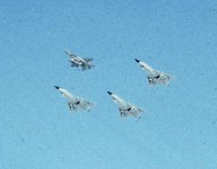 General Dynamics F-16A Fighting Falcon and Convair F-106A Delta Darts (Sentinel28a1) Tags: f16 falcon convair f106 deltadart generaldynamics f16a fightingfalcon montanaang montanaairnationalguard greatfallsinternationalairport 120thfw 120thfig