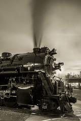 Days of coal (Scott Shields Photo) Tags: lima michigan ashley steam institute works locomotive berkshire pere marquette 1225 2015 railroading owosso