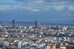 DSC_0873 (Samolymp) Tags: panorama skyline skyscraper tour lyon crayon 3e incity partdieu oxygne lyonnais crdit