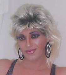 Me (queen.catch) Tags: smile femme makeup queen sissy catch earrings eyeshadow crossdresser shemale 80shair trannyface ladyboylipstick