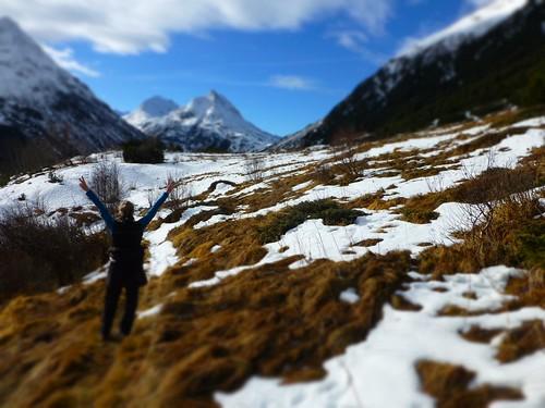 Winterspaziergang oberhalb von Galtür