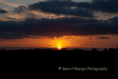 SUNSET-11-4-10-RAF-MILLDENHALL (Benn P George Photography) Tags: d sunsets therock rs mcconnell dyess c130j kc135r rafmildenhall c130e 11410 c130h 600328 621856 623559 068610 742067 bennpgeorgephotography