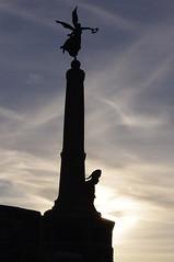 D14096.  Aberystwyth War Memorial. (Ron Fisher) Tags: uk greatbritain sky wales coast seaside europe pentax unitedkingdom cymru aberystwyth gb warmemorial ceredigion midwales cardiganbay pentaxkx welshcoast aberystwythwarmemorial