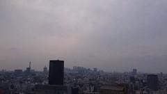 微妙な天気。 (ishizima) Tags: sky cloud japan tokyo timelapse time lapse iphone 文京シビックセンター展望ラウンジ