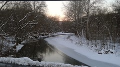 McMahon Creek, Bellaire, Ohio (WillynWV) Tags: county winter ohio creek belmont jonas mcmahon phoneography