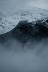 Mountain Mist (Duncan Howard) Tags: winter white mist snow black mountains clouds outdoors photography scotland highlands glen adventure moore glencoe atmospheric etive rannoch