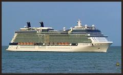 Celebrity Solstice (SemmyTrailer) Tags: cruise celebrity station port pier ship melbourne solstice