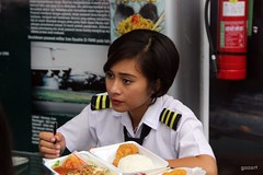 Girl Pilot (bagazi) Tags: girl wonderful indonesia malang pilot colorphotoaward theunforgettablepictures platinumheartaward flickrawardgallery