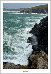 Mesmerising Waves At Pentire (flatfoot471) Tags: ocean summer england holiday landscape coast cornwall unitedkingdom newquay normal pentire 2015