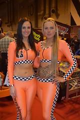 Grid Girls (jambox998) Tags: ladies girls sexy smile cat pretty toe suit camel clevage blond pr cameltoe lycra autosport 2016 promot