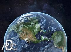 Altus Agency - Earth 3D Rendering (rdcdesign) Tags: art computer 3d modeling earth 3drendering planetearth 3dlighting planetearthrendering