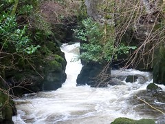 River Devon at Rumbling Bridge Gorge (luckypenguin) Tags: river scotland waterfall gorge cascade kinross rumblingbridge kinrossshire riverdevon crookofdevon muckhart powmill