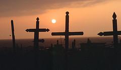 Atacama sunset (Dick Culbert) Tags: chile crosses atacamadesert