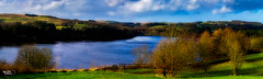 Turton and Entwistle Reservoir (Thanks For Your Kind Support) Tags: trees england sky panorama monument water architecture clouds landscape northwest britain dam panoramic reservoir lancashire historical 1855mm hdr chapeltown entwistle turton kevinwalker canon1100d