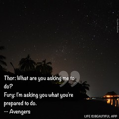 #resolve #Avengers (sypatigas) Tags: thor fury avengers nickfury resolve