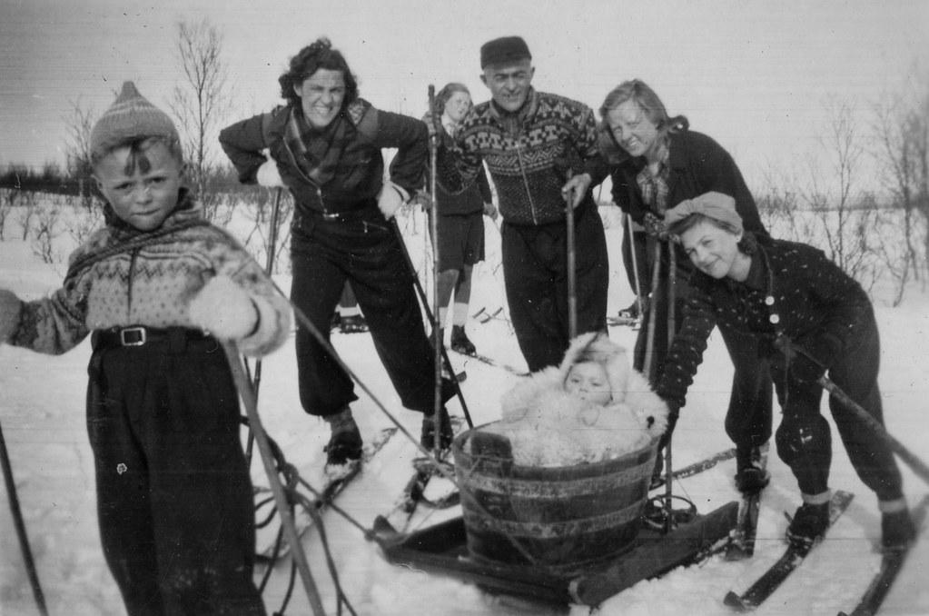 tromsø jenter Ski
