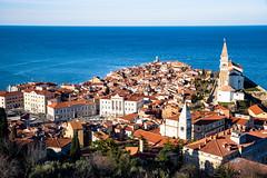 Piran (If not NOW... when?) Tags: city travel light sea canon europe euro slovenia piran dslr 5d3 5diii